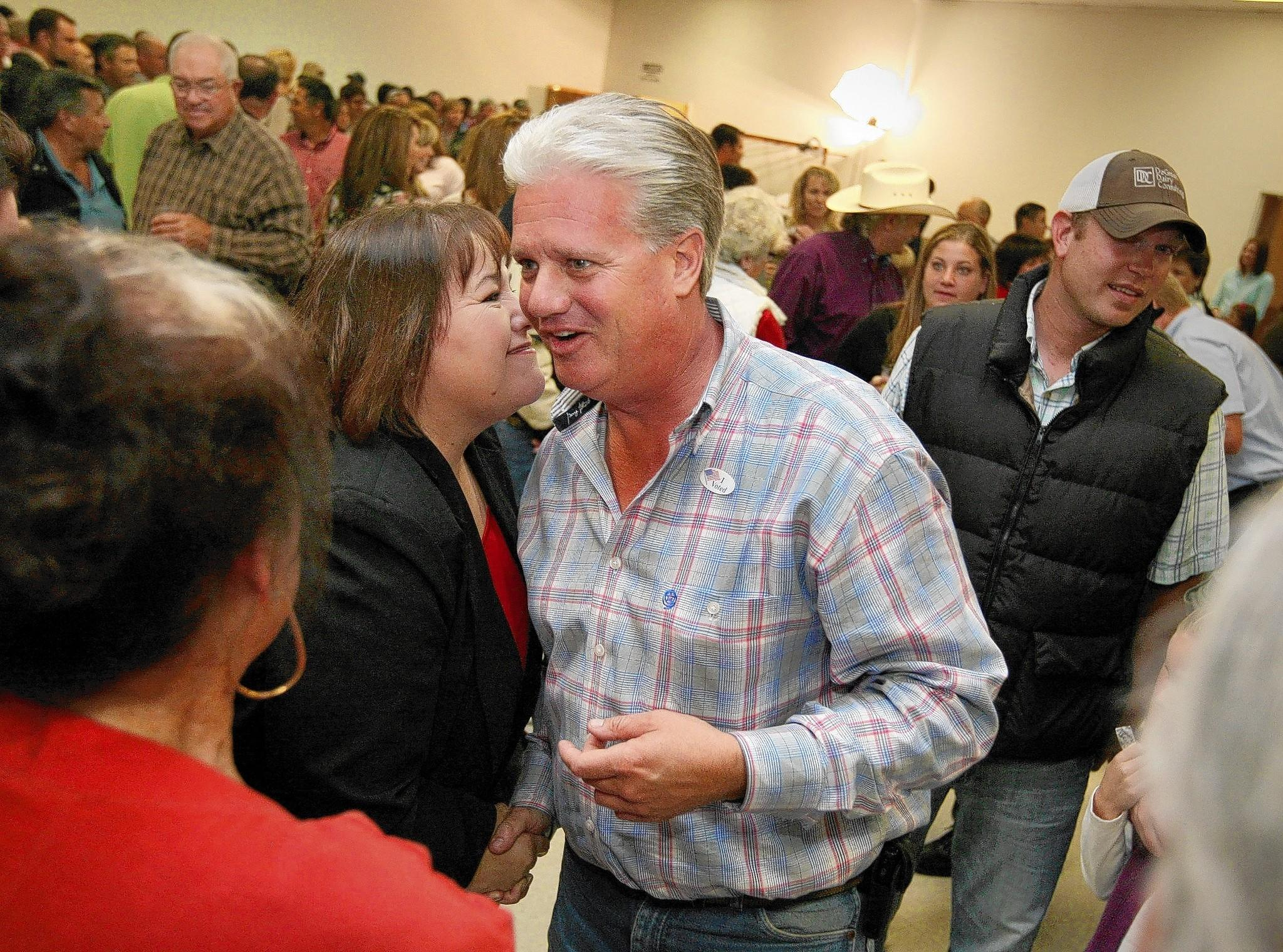 Andy Vidak, shown in 2010, scored an upset victory last year in a Senate district where Democrats have a 22-point advantage in voter registration. He sidestepped gay marriage and some other divisive issues while taking a moderate approach to immigration.