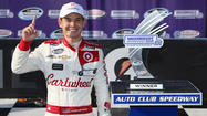 Kyle Larson gets first Nationwide Series win at Fontana