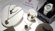 Valentine's Day helps drive sales of luxury goods
