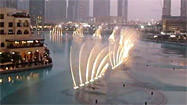 Dubai Fountain dances to Whitney Houston song