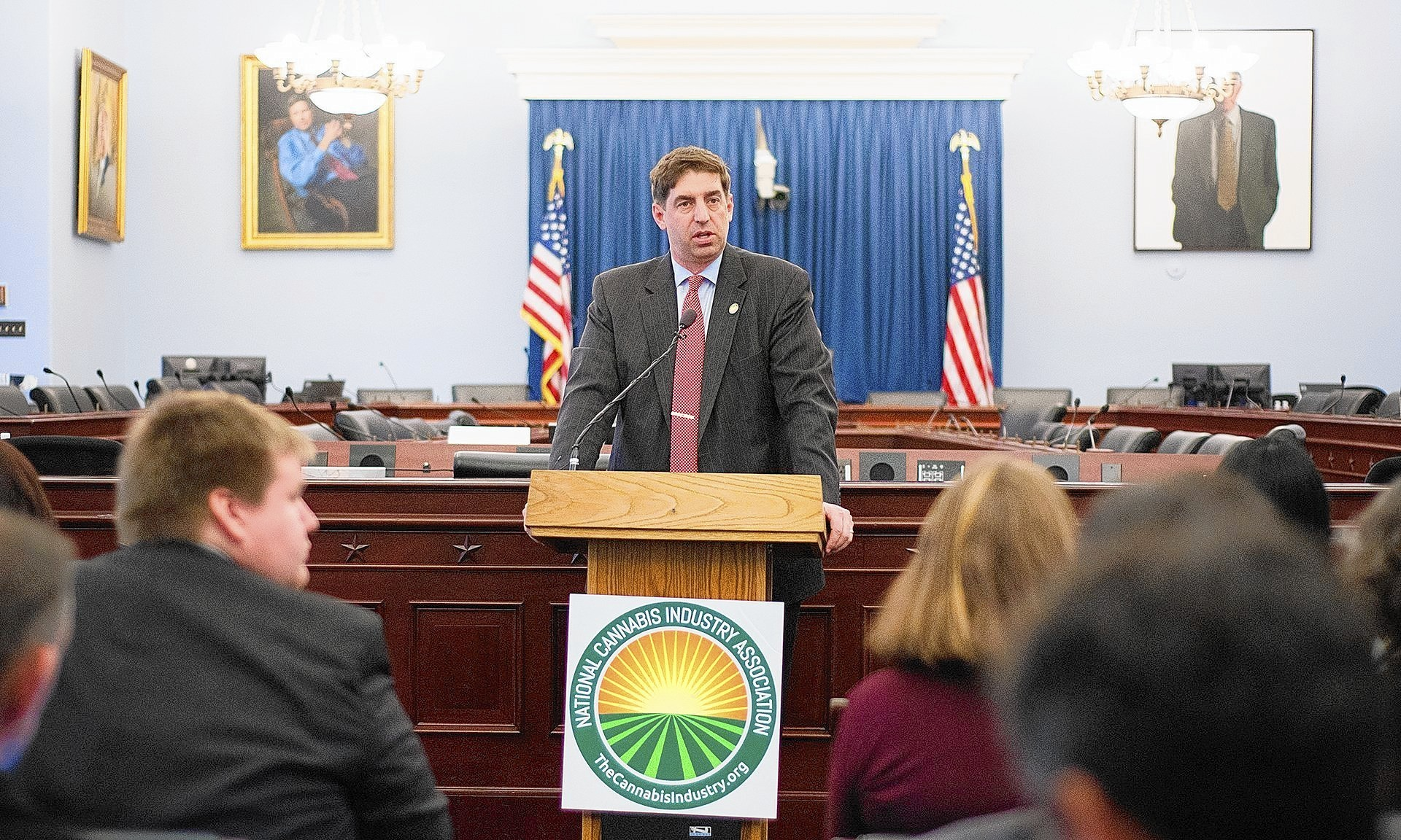 Michael Correia, a former GOP staffer who spent two years lobbying for the conservative American Legislative Exchange Council, is the newest advocate for the National Cannabis Industry Assn.