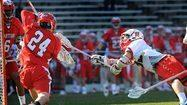 Haus leads No. 10 Maryland to a 12-6 win over No. 19 Hartford in season opener