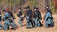 Re-enactors are undeterred as they relive the Battle of Olustee