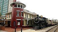 Orlando's Church Street steam engine arrives at new home