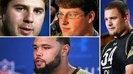 Interior linemen take center stage for Ravens at NFL combine