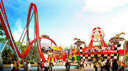 Photos: New rides at China's Happy Valley Wuhan theme park