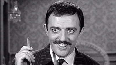 Image result for JOHN ASTIN AS GOMEZ ADDAMS