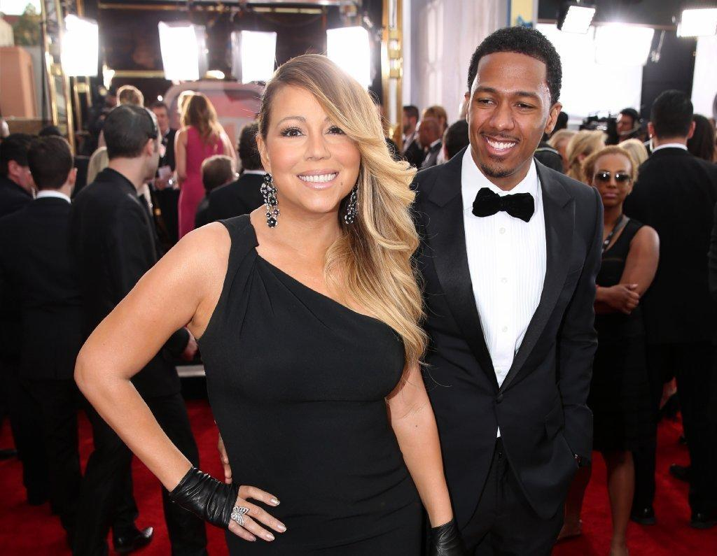 Mariah Carey and Nick Cannon attended the 20th annual Screen Actors Guild Awards in January.