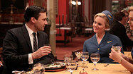 Pictures: 'Mad Men'-inspired dining