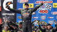 Kyle Busch wins Auto Club 400 at Fontana for second year in a row