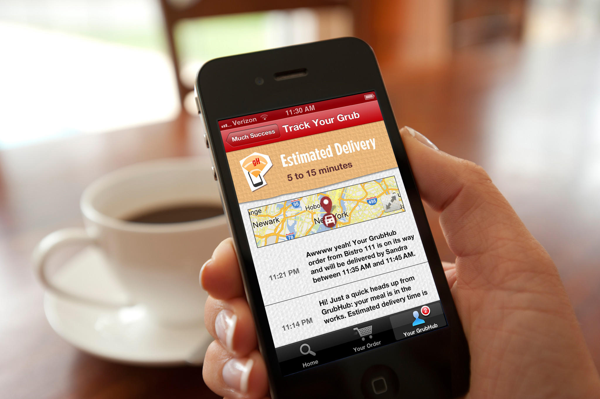 GrubHub has 28,800 restaurants and 3.4 million active users in its network as of Dec. 31.