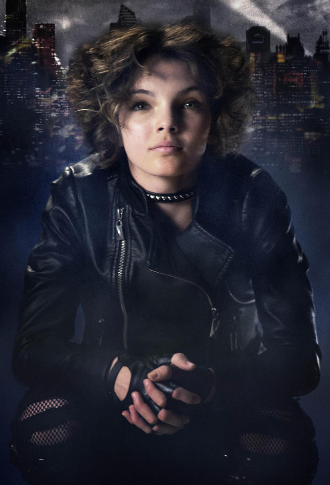 "Camren Bicondova plays Selina Kyle, the future Catwoman, in Fox's upcoming ""Gotham."""