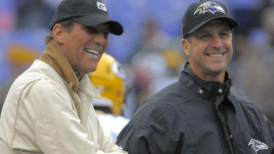 Bisciotti says that team added another year on Harbaugh's contr…
