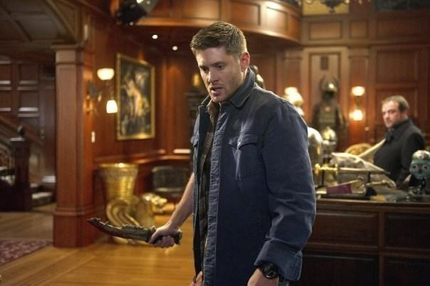 "Jensen Ackles as Dean Winchester on The CW's ""Supernatural."""