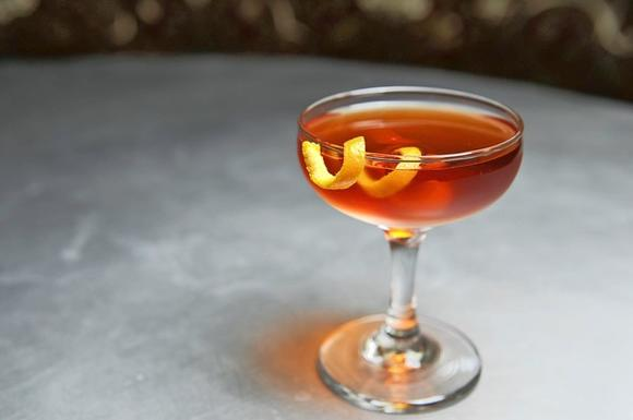 The Boulevardier at Fork & Wrench.