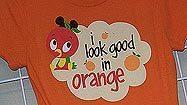 Pictures: Orange Bird character at Walt Disney World's Adventureland