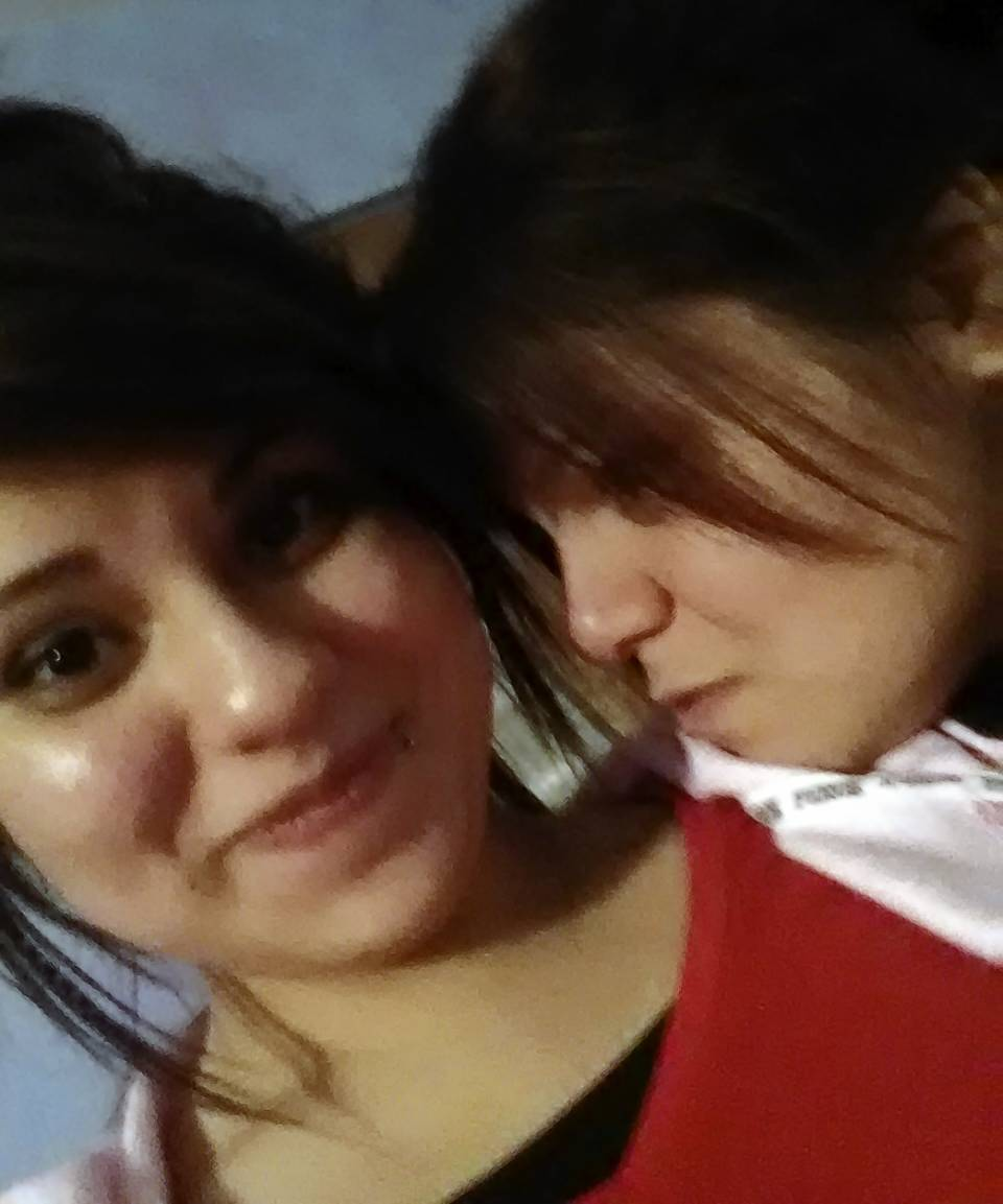 Briana Valle, left, with her mother Alicia Guerrero. Guerrero had sought an order of protection for nearly a year against the man accused of gunning her daughter down in the driveway of Guerrero's Romeoville home.