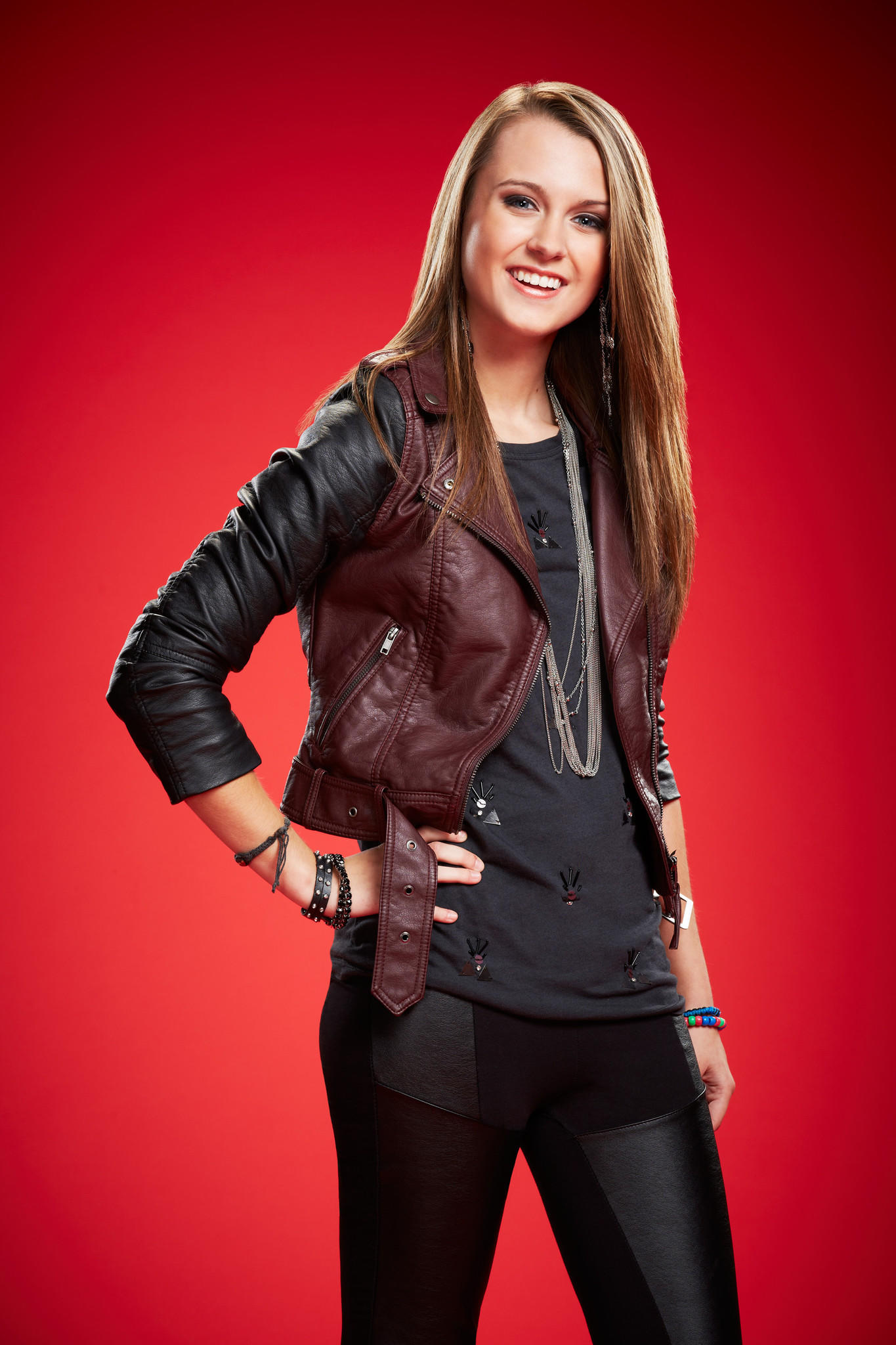 "Bria Kelly promotional photo for Season 6 of NBC's ""The Voice."""