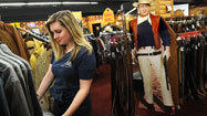 John Wayne's birthday is celebration for western wear store