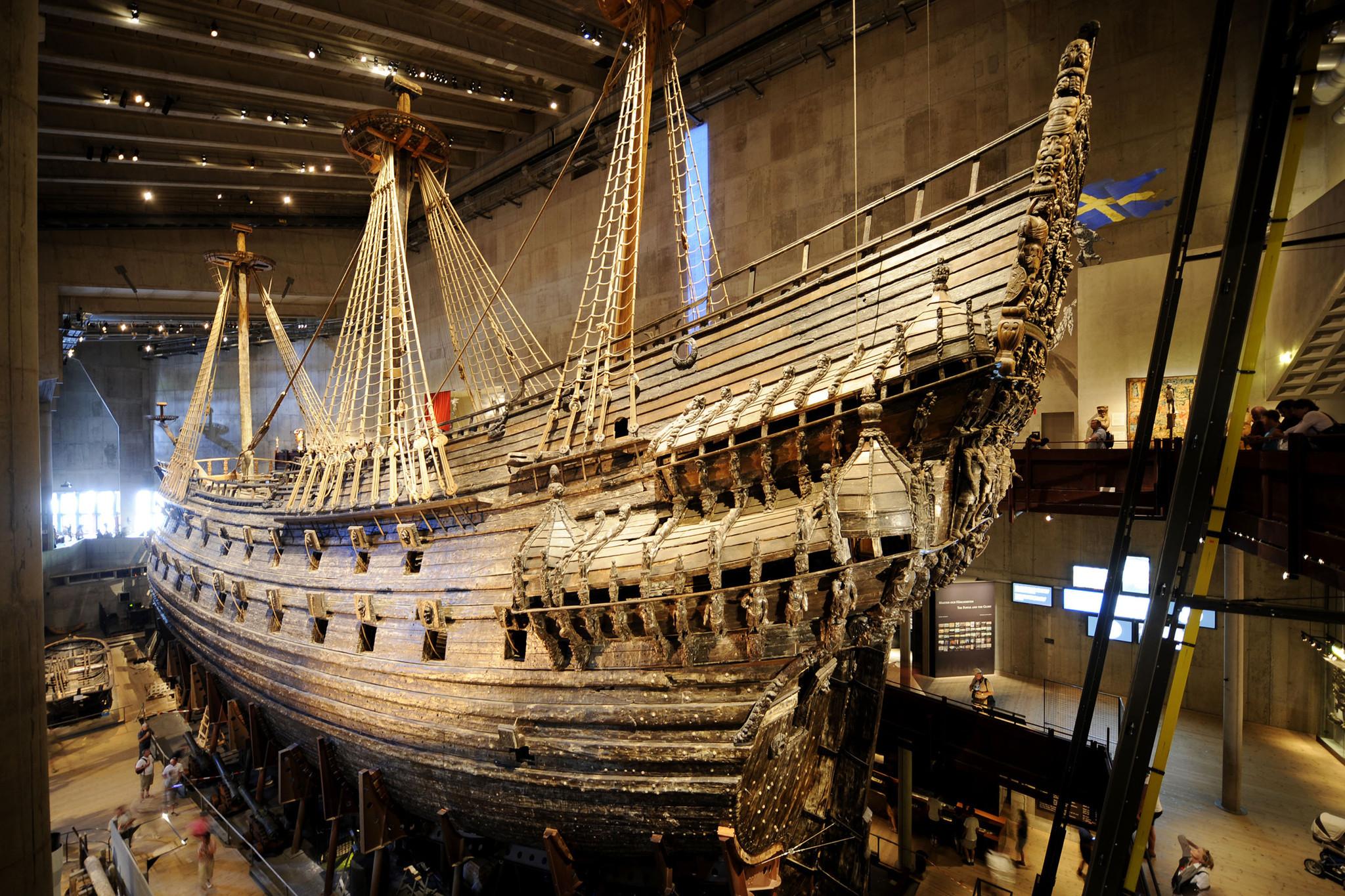 Vasa ship museum in stockholm sweden orlando sentinel for Vasa ship