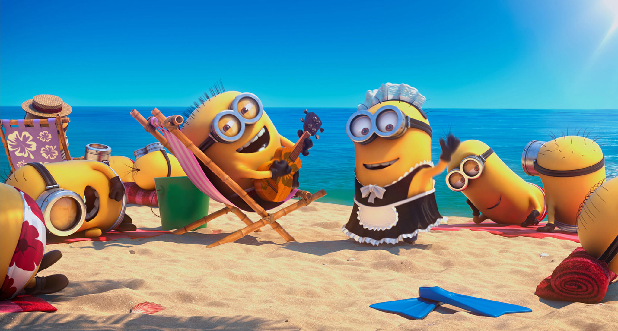 "The popularity of family movies such as Universal's animated hit ""Despicable Me 2"" has helped drive global movie ticket sales to a record level."