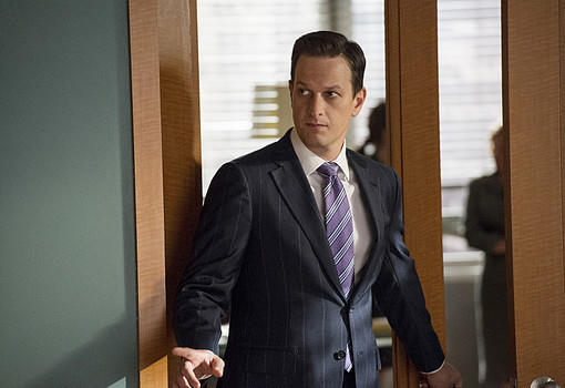 "Josh Charles as Will Gardner in ""The Good Wife."""