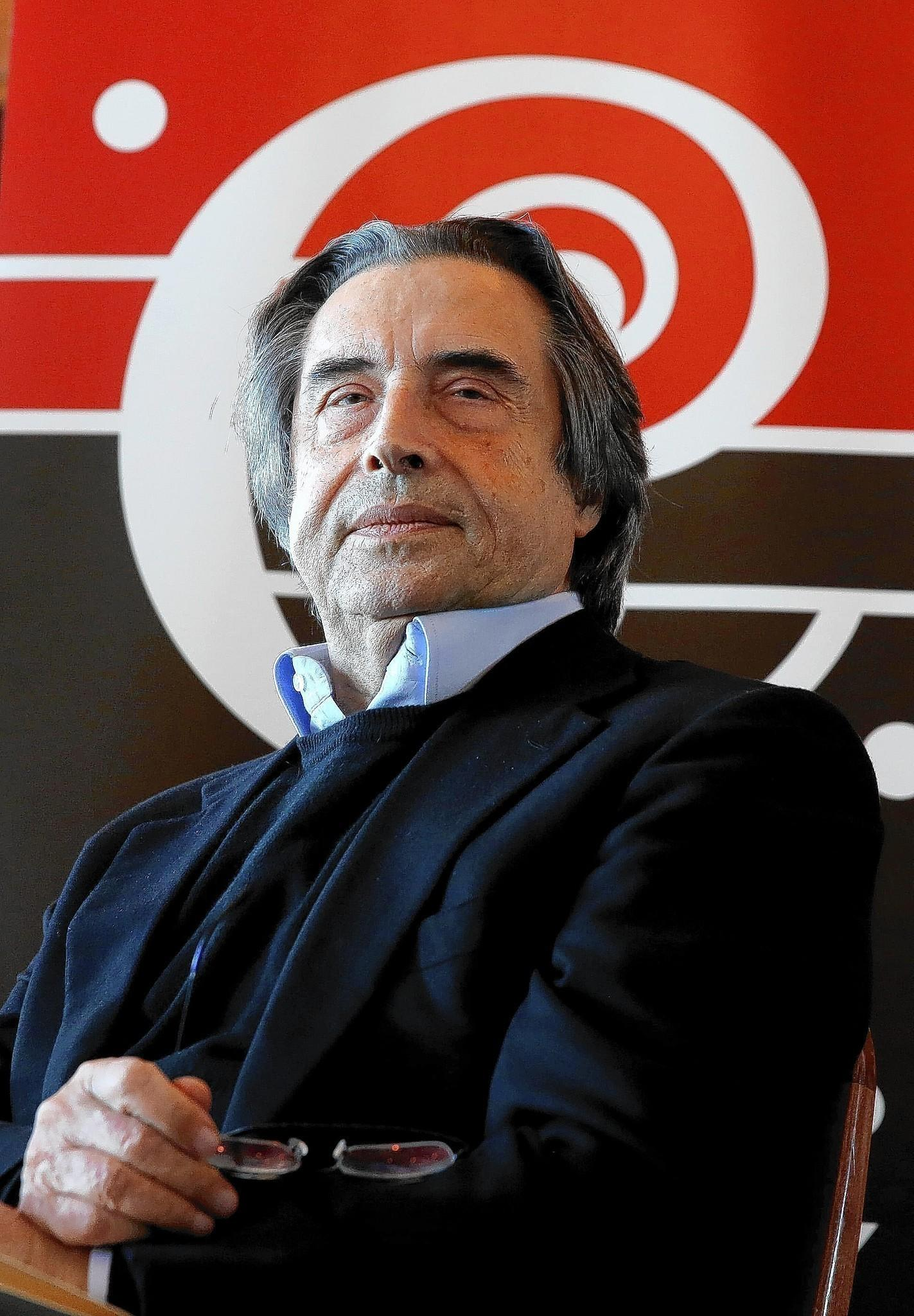 Chicago Symphony Orchestra music director Riccardo Muti.