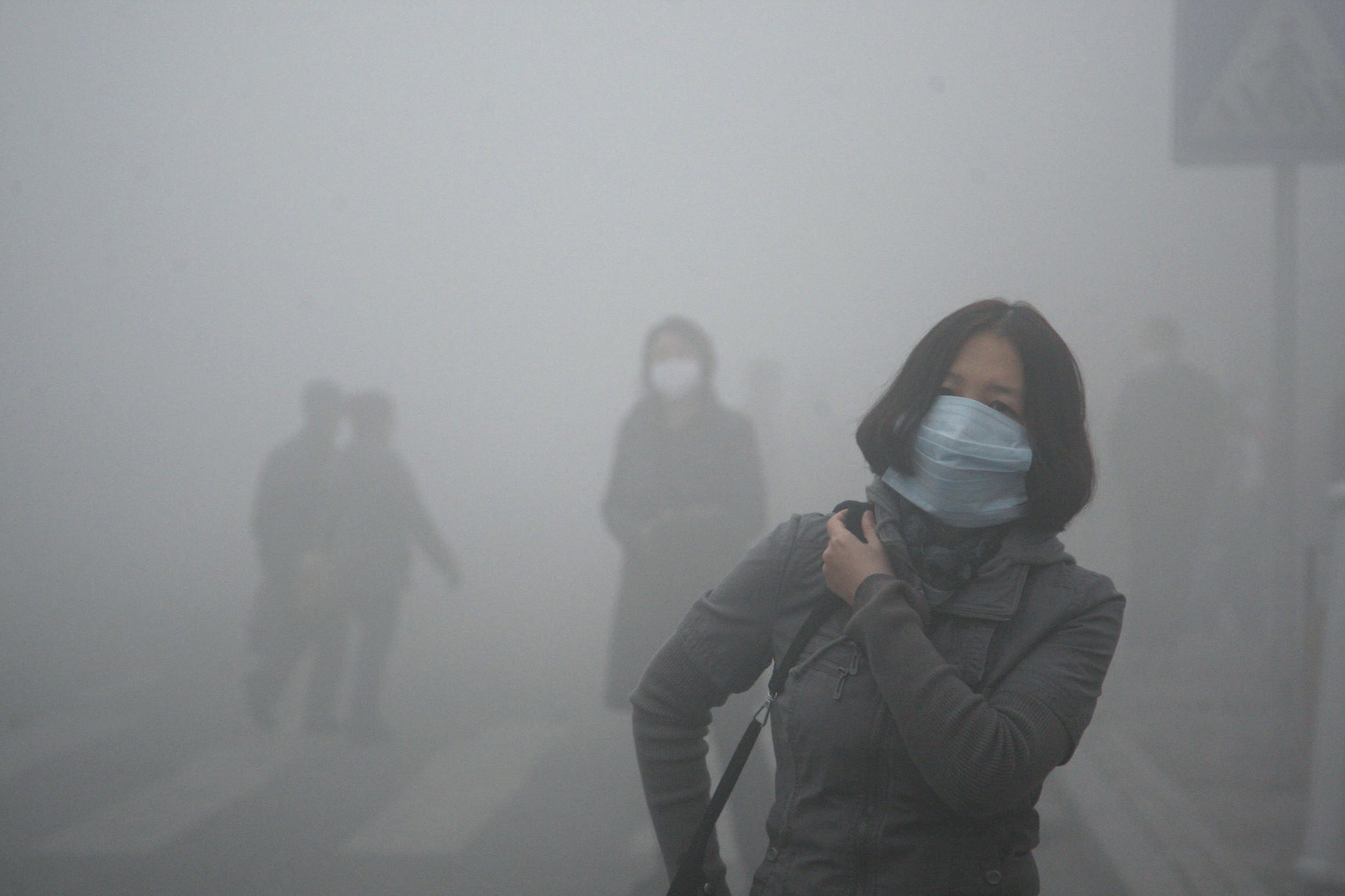 Air pollution caused 7 million deaths globally in 2012, according to new estimates by the World Health Organization. Above, heavily polluted air in the northern Chinese city of Harbin.