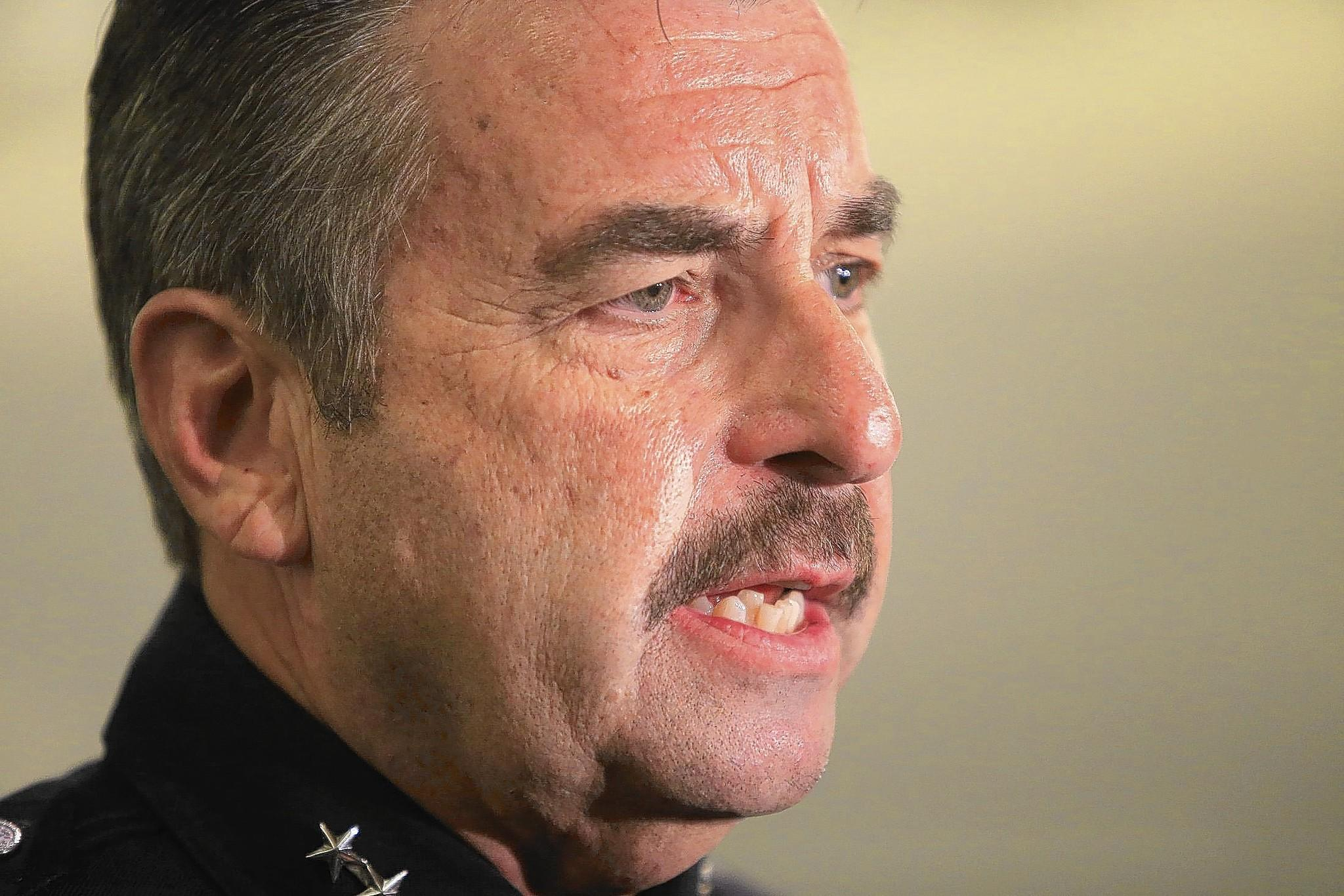 LAPD Chief Charlie Beck overruled a disciplinary board's recommendation to fire Officer Shaun Hillmann, whose father and uncle are department veterans.