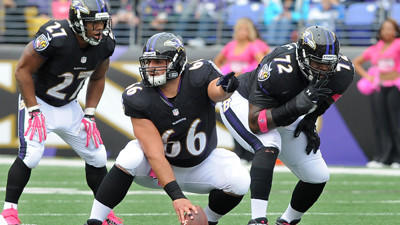 Ravens turn focus to the offensive line