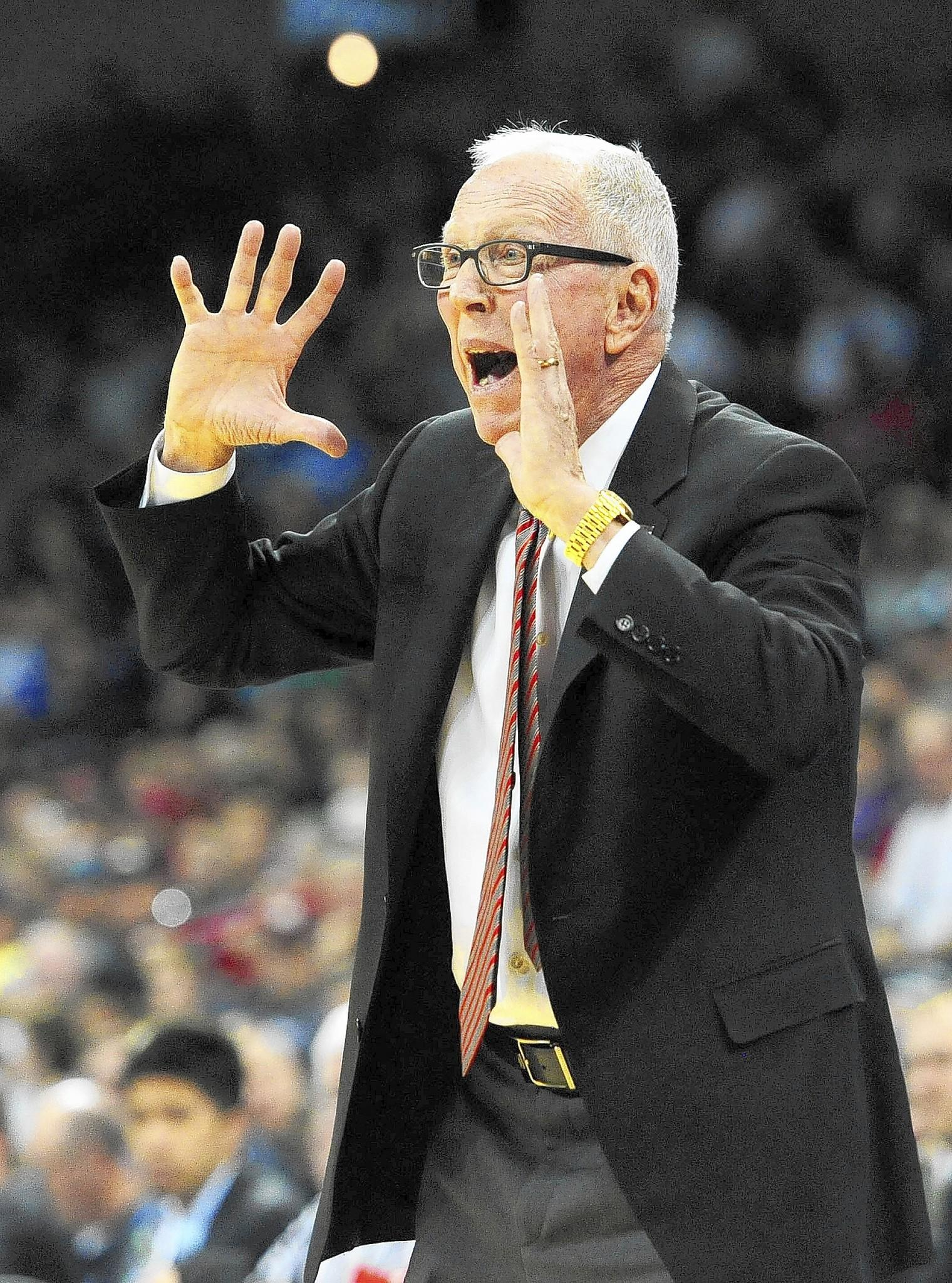 "San Diego State men's basketball coach Steve Fisher said it was ""disgraceful"" that New Mexico State's team had to take an overnight flight from Spokane, Wash., to El Paso, Texas -- about an hour away from the school -- after its loss to San Diego State in the NCAA tournament."