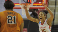 Maryland women beat Texas in NCAA tournament, advance to Sweet 16