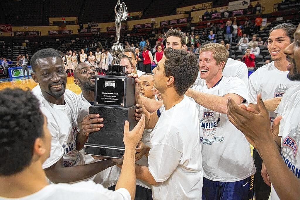 The Vanguard University men's basketball team won its first NAIA national championship.