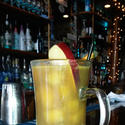 Hot Spiked Homemade Apple Cider at Riptide by the Bay