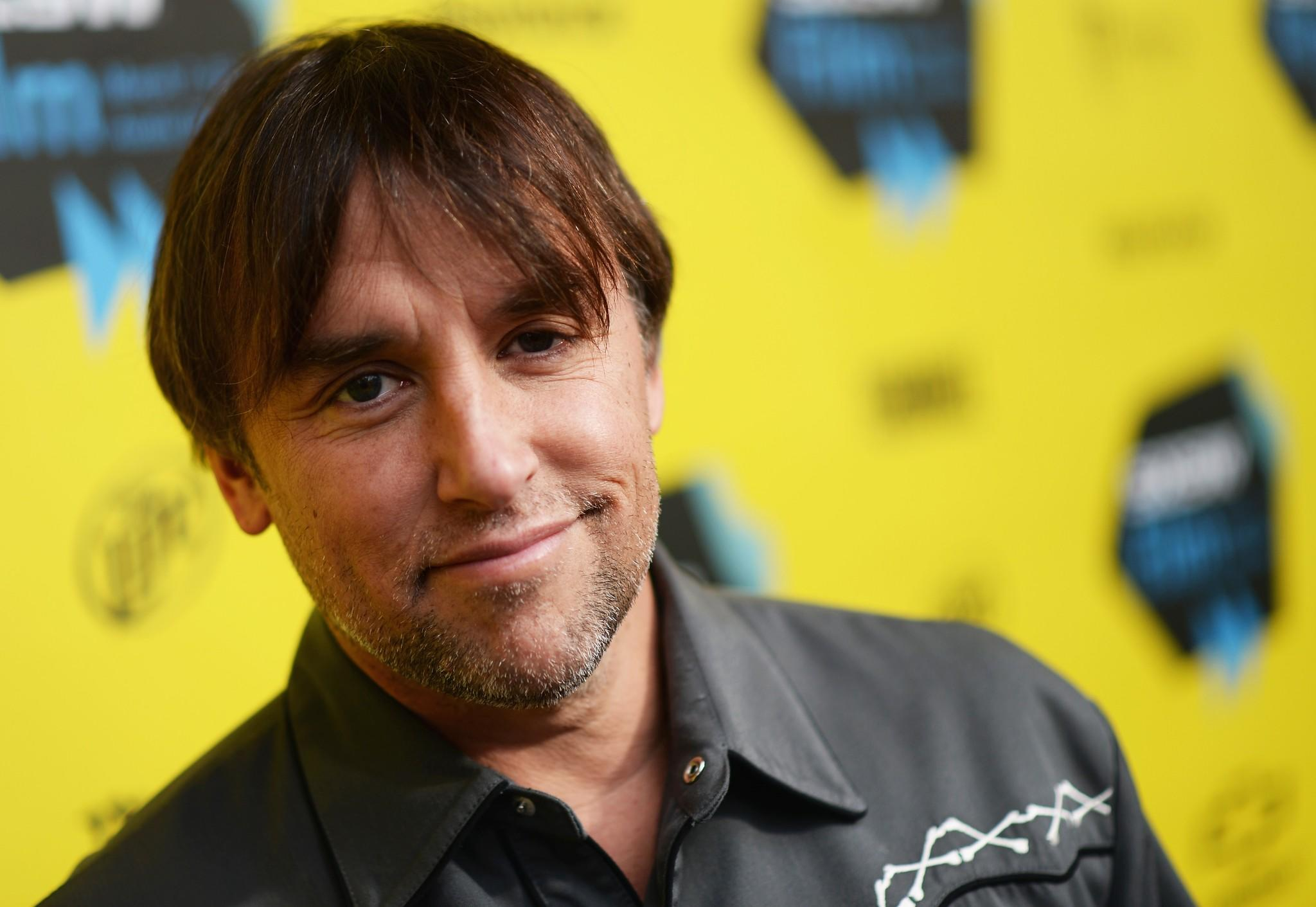"""Director Richard Linklater at the premiere of """"Boyhood"""" at the 2014 SXSW Festival."""