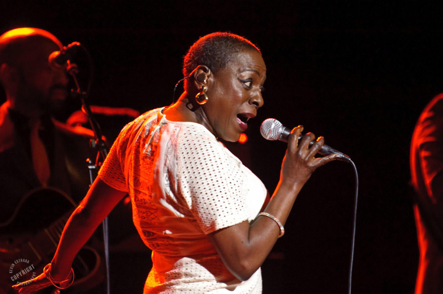 Sharon Jones & the Dap-Kings at the Wiltern Theatre in Los Angeles on Tuesday.