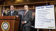 Democrats, GOP unveil new jobs agendas, but no signs of compromise
