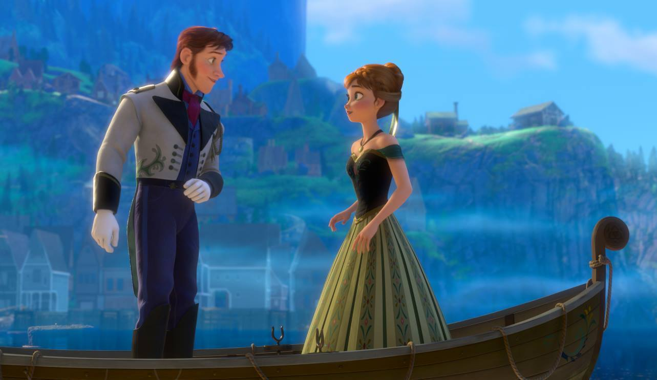 "The hit soundtrack to Disney's ""Frozen"" topped the Billboard 200 album chart on Wednesday."