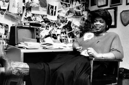 """<b>'The Oprah Winfrey Show'</b><br> <br> After working in local media, Winfrey launched """"The Oprah Winfrey Show.""""  She covered whatever mattered most to her, from home decor to weight loss to AIDS.  Her distinctive, therapy-session-style hosting won over audiences from the start.  She actually seemed to care about the people she interviewed, and that made her audiences care too. She was even known to shed a tear over particularly emotional stories."""