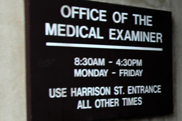 Cook County medical examiner's office.