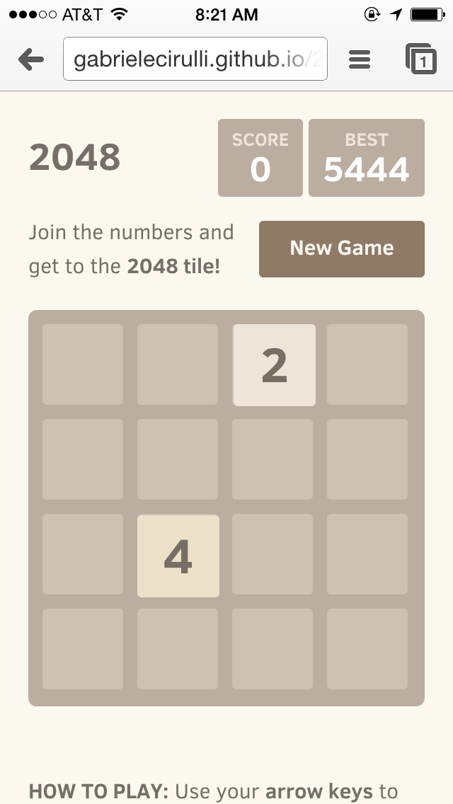 "2048, a hit video game, was created by an Italian first-time game developer ""as a fun project over the weekend."""