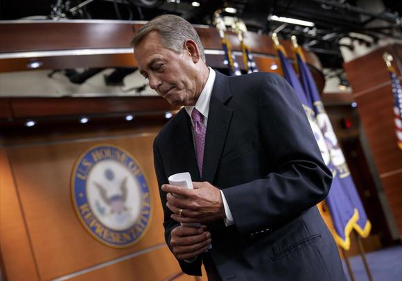 John Boehner, unemployment insurance