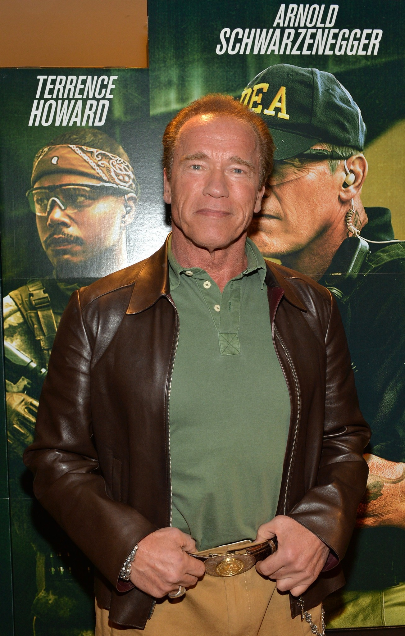Celeb-spotting around South Florida - Arnold Schwarzenegger