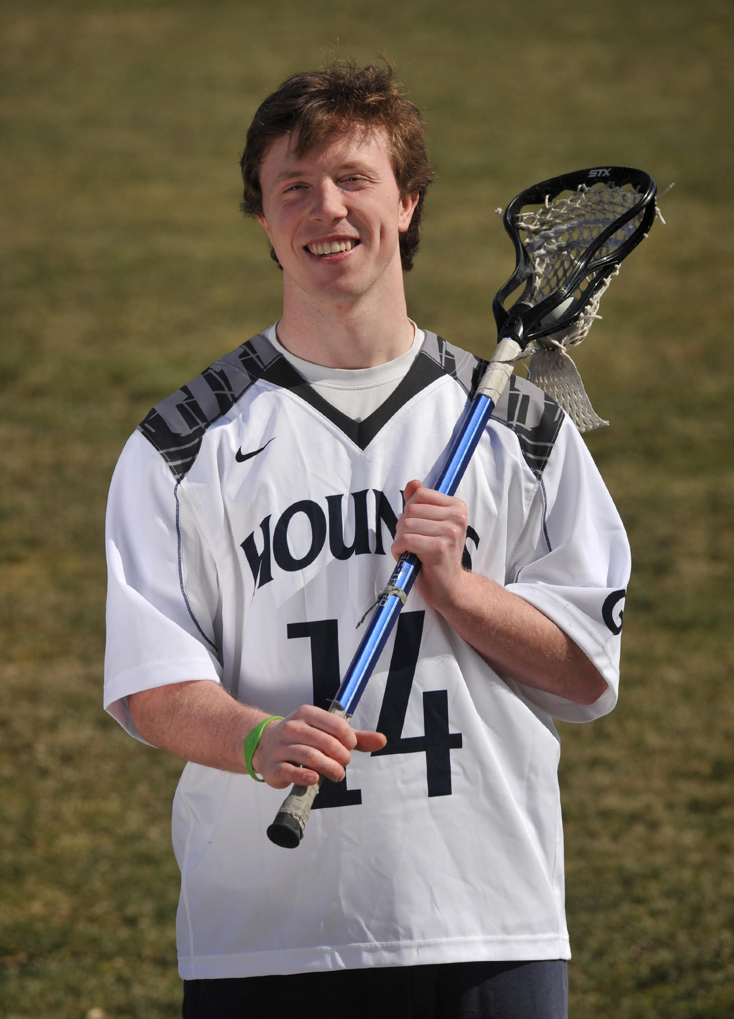 William McBride, 18, a senior lacrosse player at Gilman.