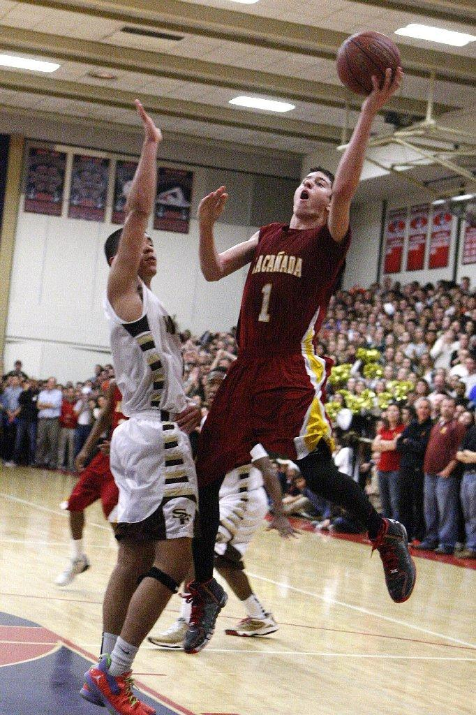 La Cañada High's Koko Kurdoghlian was named an All-Area Boys' Basketball first-teamer. (Tim Berger/File Photo)