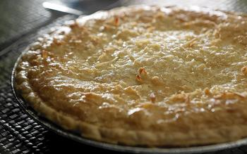 Saddlebag Lake Resort's coconut macaroon pie