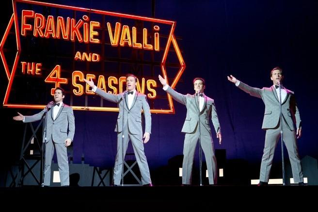 "A scene from Clint Eastwood's version of the stage musical ""Jersey Boys."""