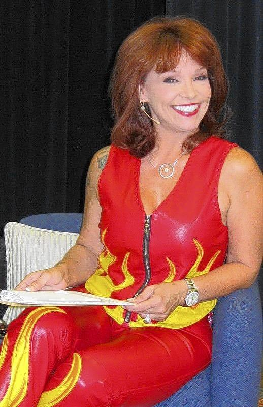 Barbara Venezia at a previous Feet to the Fire Forum.