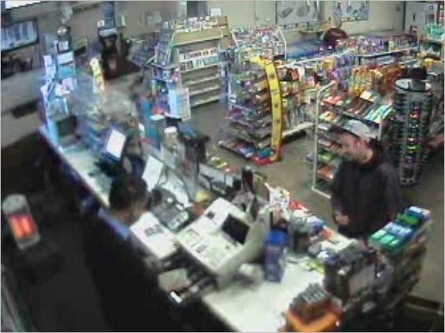 This man attempted to rob the Country Farms Convenience Store on Thursday night.