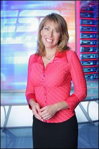 ESPN anchor Linda Cohn.